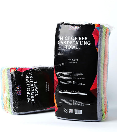 sgcb microfiber towels for car detailing wash dry