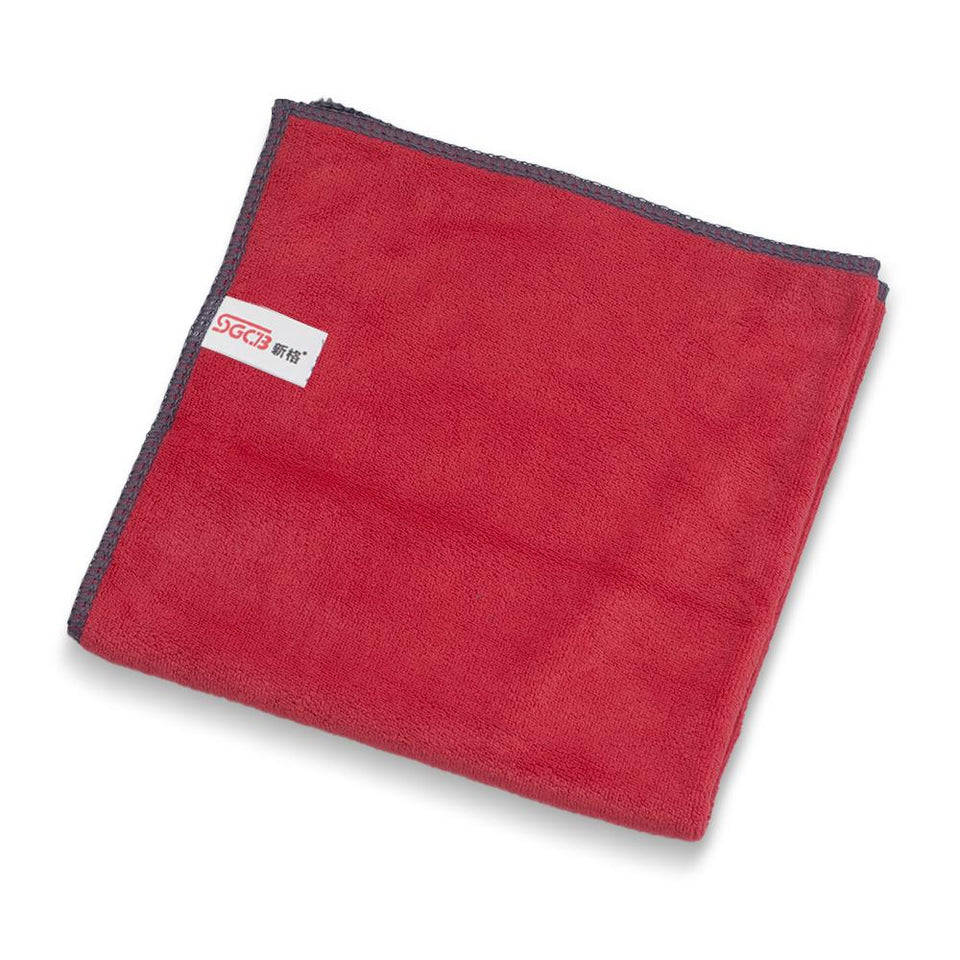 "16"" x 16"" Car Wax Removal Microfiber Buffing Towels - SGCB AUTOCARE"