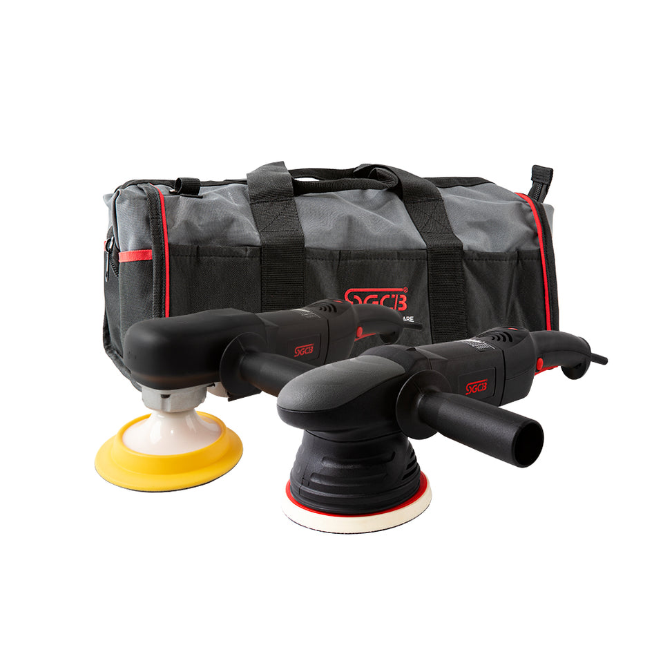 "SGCB 5"" RO DA Power Polisher Kit"