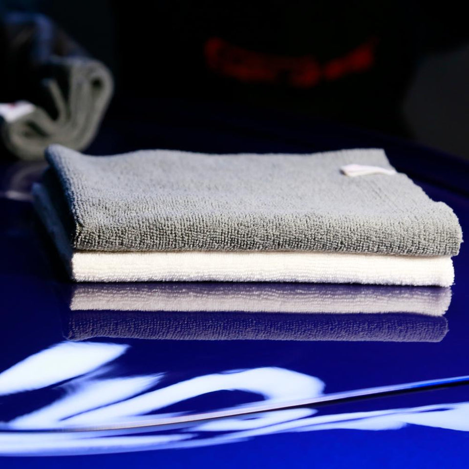 16x16In Microfiber Edgeless Ceramic Coating Removal Car Cleaning Towel - SGCB AUTOCARE