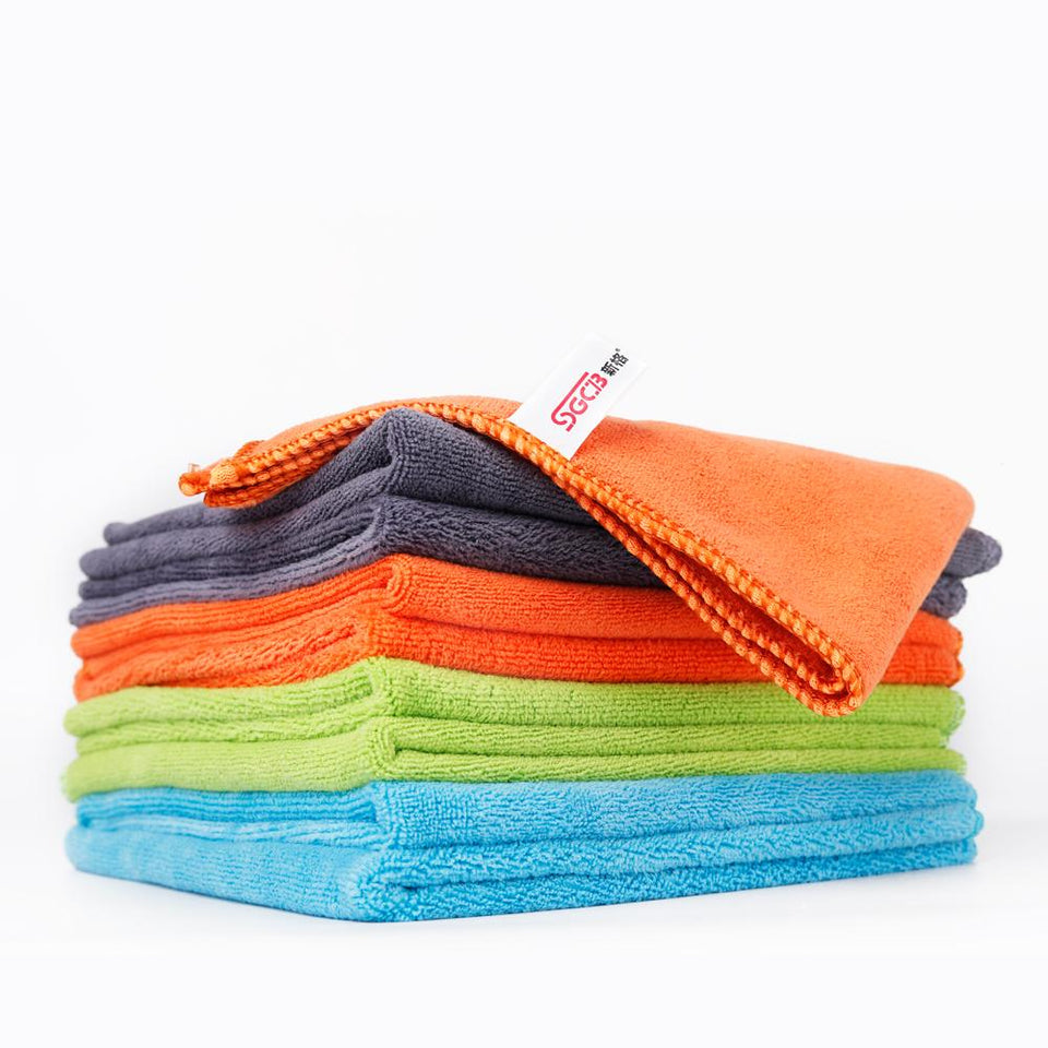 36PCS Car Wash Drying Towels Cleaning Cloth - SGCB AUTOCARE