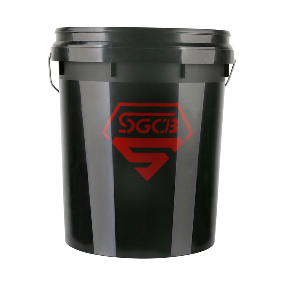 Car Cleaning Detailing Bucket Auto Finesse Bucket, Black - SGCB AUTOCARE