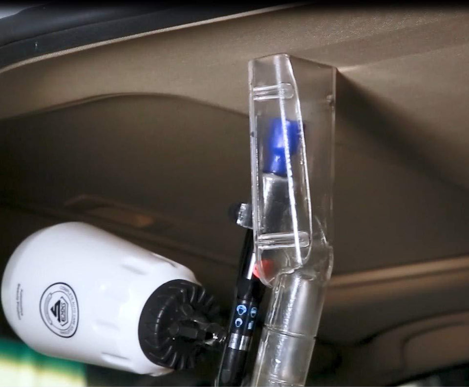 Auto Interior Cleaning Brush Gun