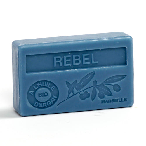 Organic Argan Oil Soap 100g - REBEL - La Maison Du Savon De Marseille - Traditional Soaps