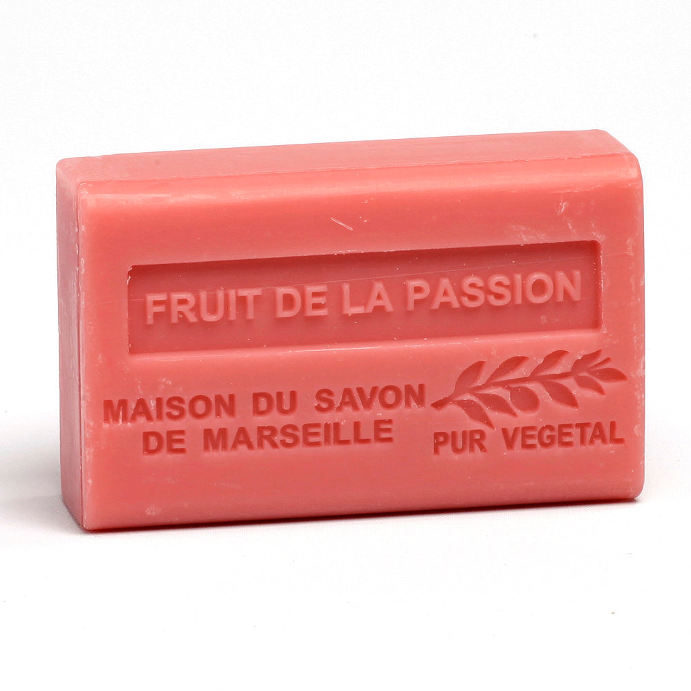 Organic Shea Butter Soap 125g - FRUIT DE LA PASSION (FRUIT OF PASSION) - La Maison Du Savon De Marseille - Traditional Soaps