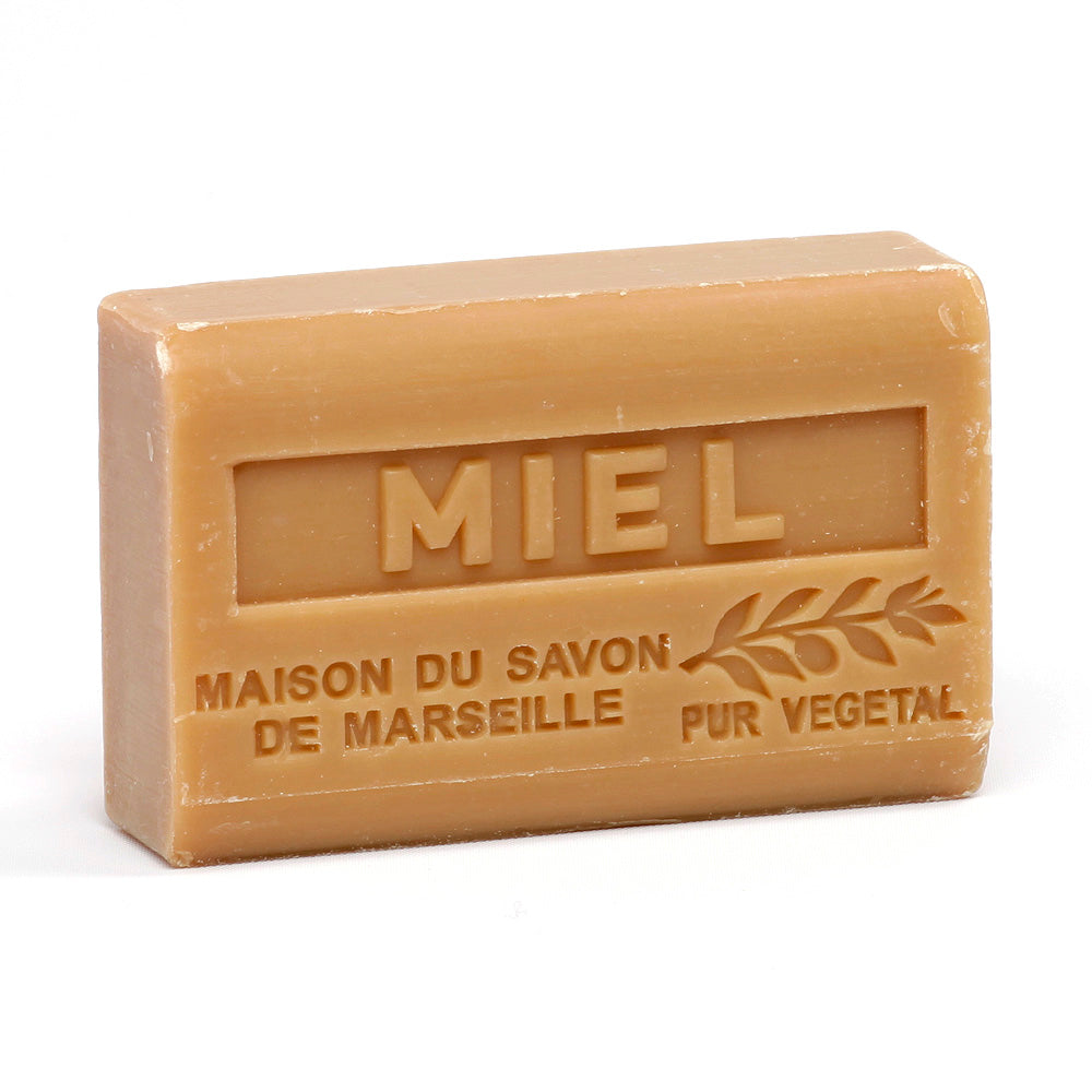 Organic Shea Butter Soap 125g - MIEL (HONEY) - La Maison Du Savon De Marseille - Traditional Soaps