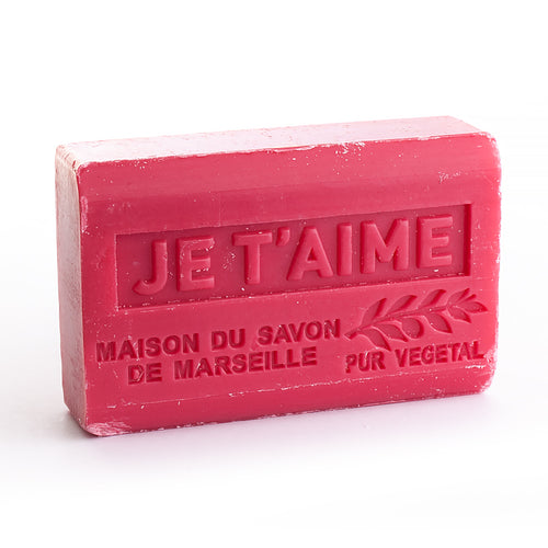 Organic Shea Butter Soap 125g - JE T'AIME (I LOVE YOU) - La Maison Du Savon De Marseille - Traditional Soaps