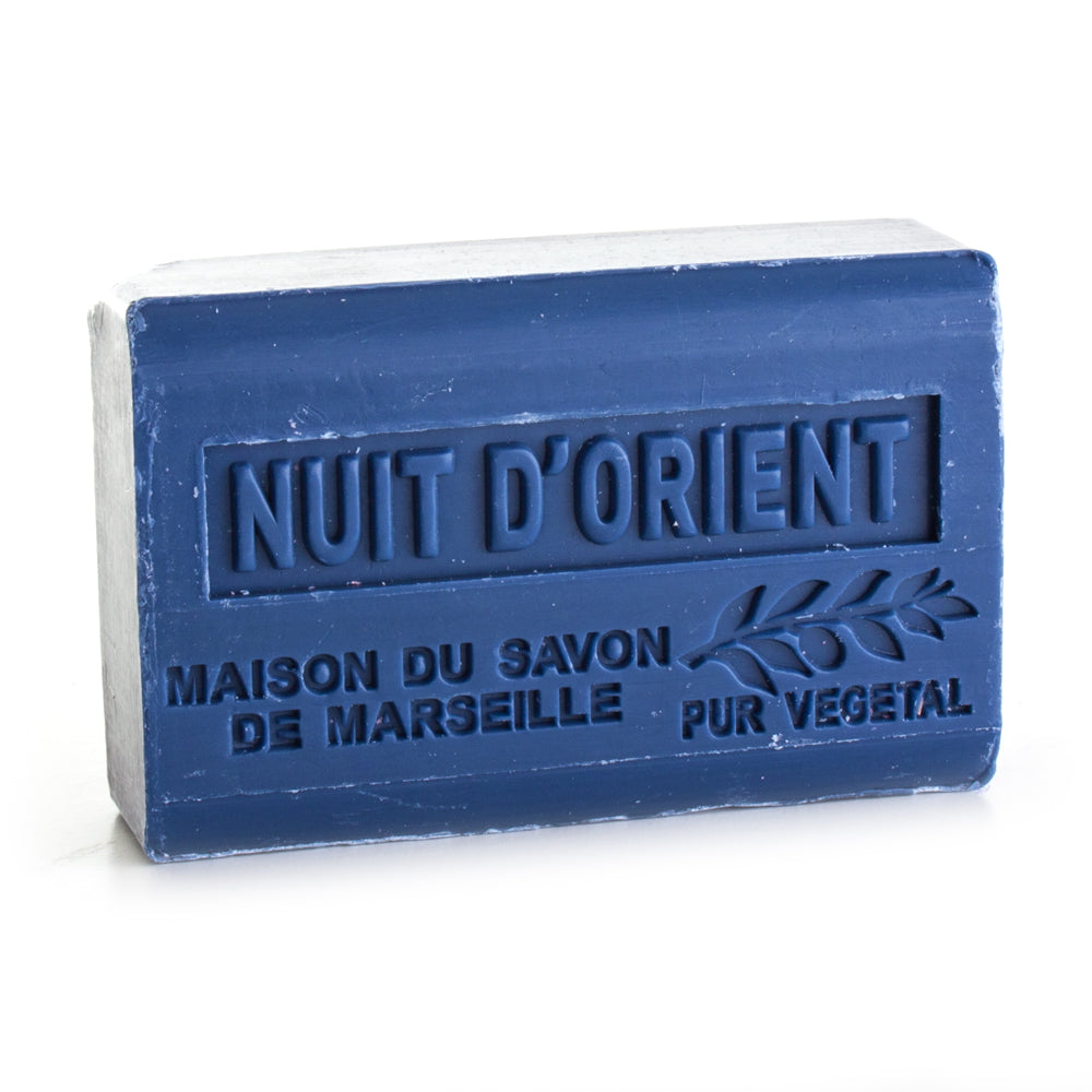 Organic Shea Butter Soap 125g - NUIT D'ORIENT (NIGHT OF THE ORIENT) - La Maison Du Savon De Marseille - Traditional Soaps