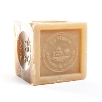 Marseille Soap Cube 300g - 72% Vegetable oil - La Maison Du Savon De Marseille - Traditional Soaps