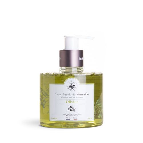 Liquid Marseille Soap 330ml Organic Olive Oil - La Maison Du Savon De Marseille - Liquid Soap
