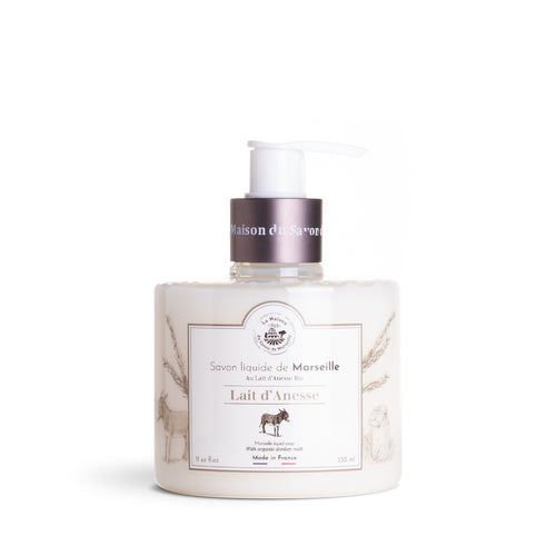 Liquid Marseille Soap 330ml Organic Donkey Milk - La Maison Du Savon De Marseille - Liquid Soap