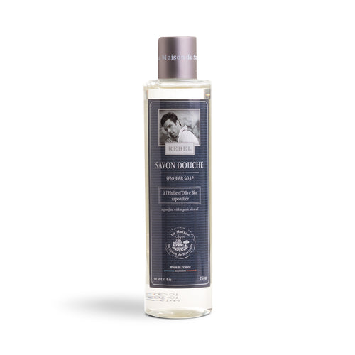 Shower Soap 250ml - REBEL - La Maison Du Savon De Marseille - Men