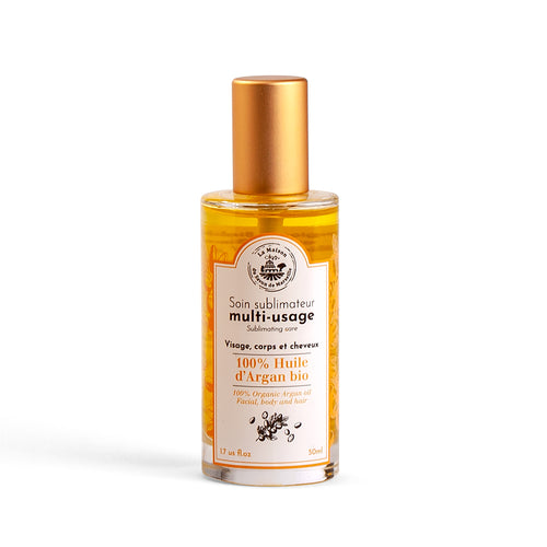 Organic Argan Oil Spray 50ml - La Maison Du Savon De Marseille - Body Care