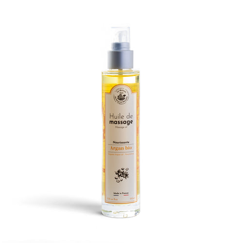 Nourishing Argan Massage Oil 100ml - La Maison Du Savon De Marseille - Spa