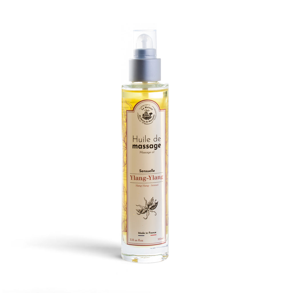 Ylang Ylang Sensual Massage Oil 100ml - La Maison Du Savon De Marseille - Spa