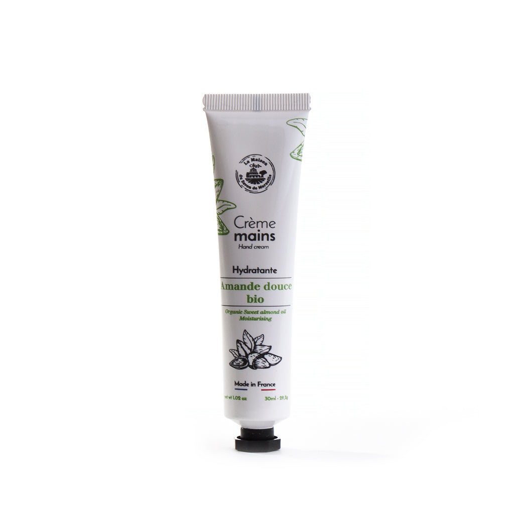 Hand Cream 30ml - SWEET ALMOND - La Maison Du Savon De Marseille - Body Care