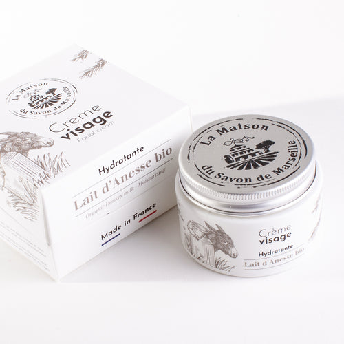Face Cream 50ml - Organic Donkey Milk - La Maison Du Savon De Marseille - Face Care