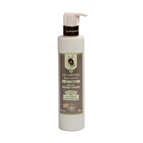 Body Lotion 250ml - 10% ORGANIC DONKEY MILK - La Maison Du Savon De Marseille - Body Care