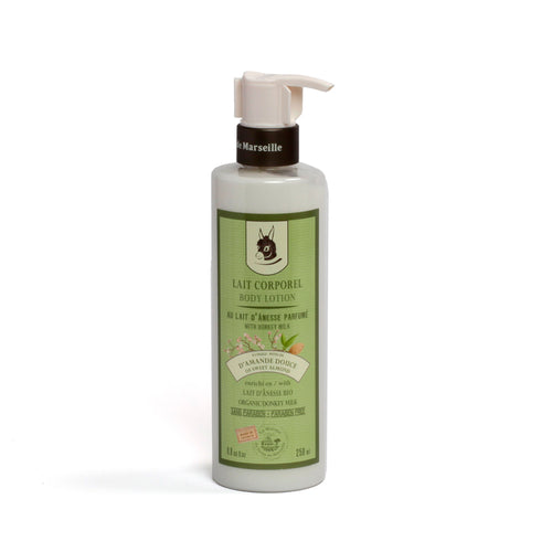 Body Lotion 250ml - DONKEY MILK WITH SWEET ALMOND - La Maison Du Savon De Marseille - Body Care