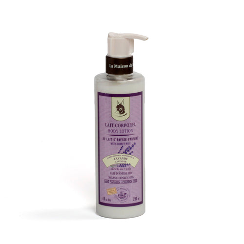 Body Lotion 250ml - DONKEY MILK WITH LAVENDER - La Maison Du Savon De Marseille - Body Care