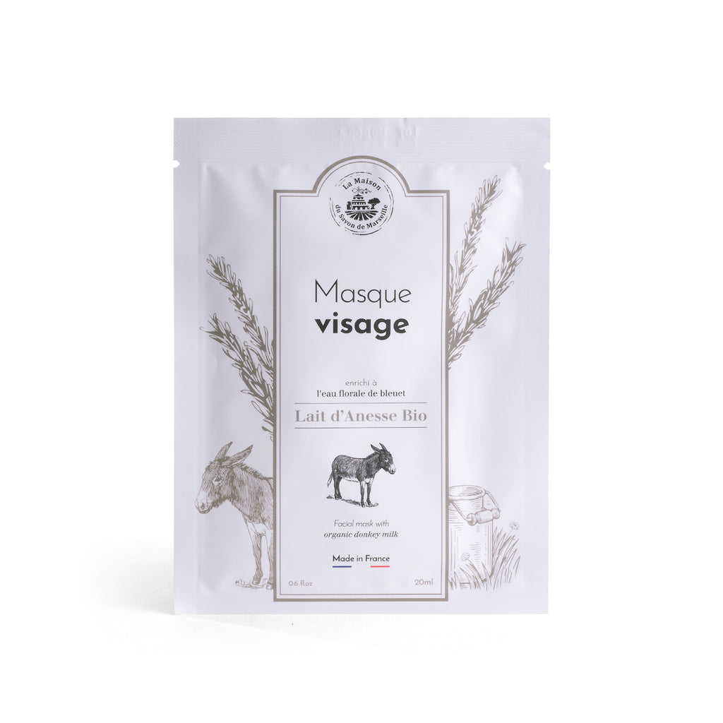 Face Mask 20ml - DONKEY MILK - La Maison Du Savon De Marseille - Face Care