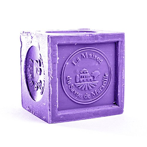 Fragrant Soap Cube 300g- Lavender Essential Oil - La Maison Du Savon De Marseille - Traditional Soaps