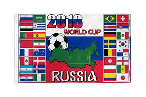 World Cup 2018 (Groups) Flag