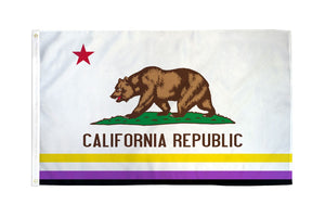 California (Non-Binary) Flag