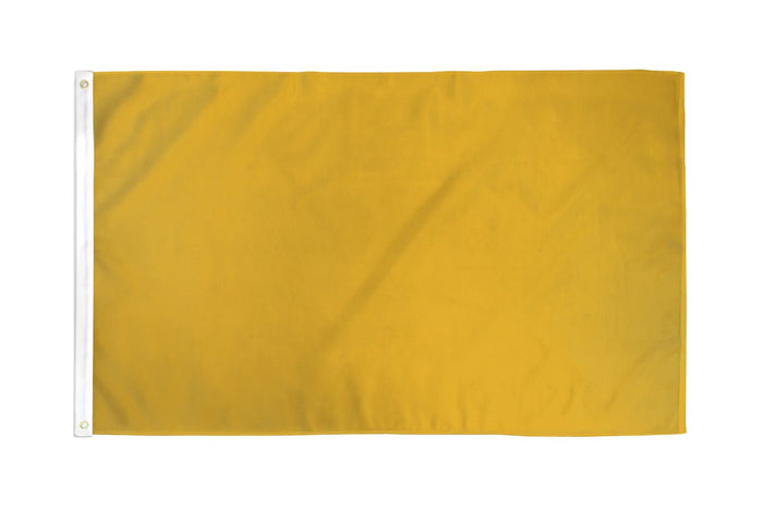 Gold Solid Color DuraFlag