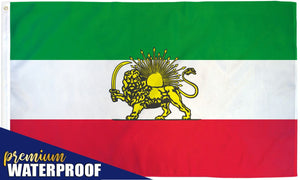Iran (Lion) Waterproof Flag