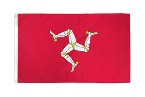 Isle of Man Waterproof Flag