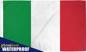Italy Waterproof Flag