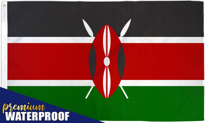 Kenya Waterproof Flag