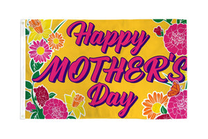 Happy Mother's Day Flag