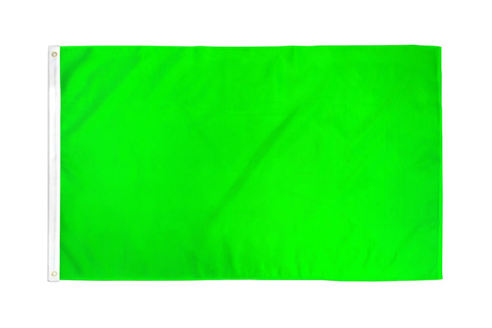 Neon Green Solid Color DuraFlag