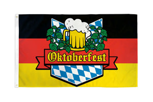 Oktoberfest Waterproof Flag