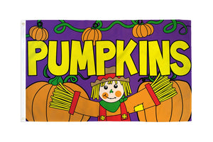 Pumpkins Flag