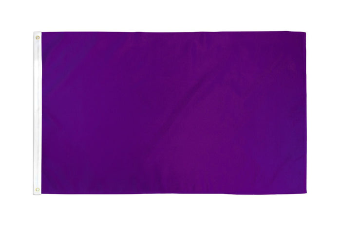 Purple Solid Color DuraFlag