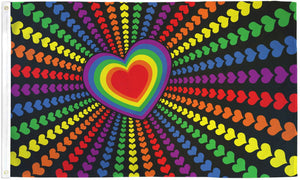 Rainbow Love Flag