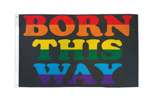 Born This Way Ultra Breeze Flag
