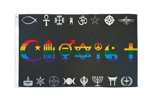 Coexist (Rainbow) Ultra Breeze Flag