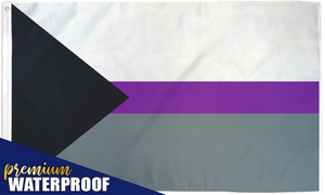 Demisexual Waterproof Flag