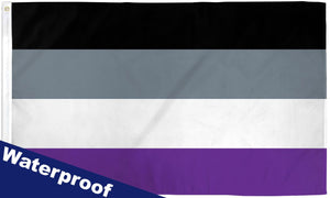 Asexual Waterproof Flag