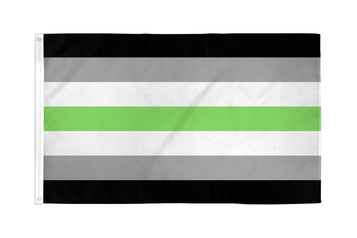 Agender Waterproof Flag