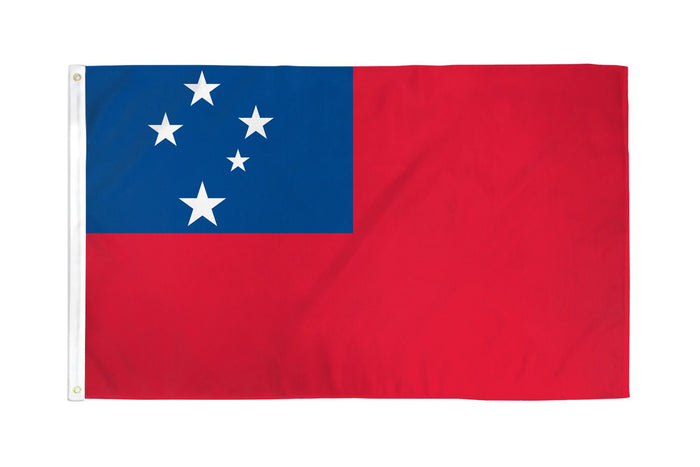Samoa (Western) Waterproof Flag
