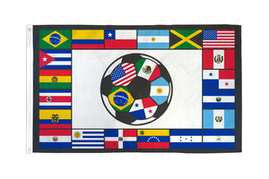 South American Soccer Flag