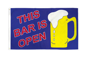 This Bar is Open Flag