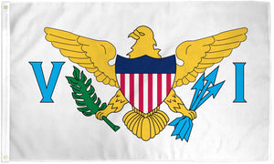 US Virgin Islands Waterproof Flag