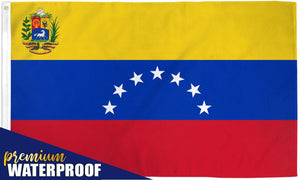 Venezuela (7 star) Waterproof Flag