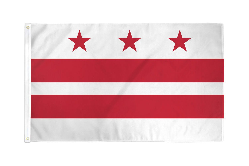 Washington DC Waterproof Flag